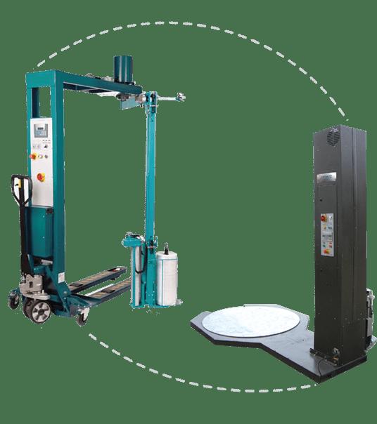 מכונת עטיפת משטחים