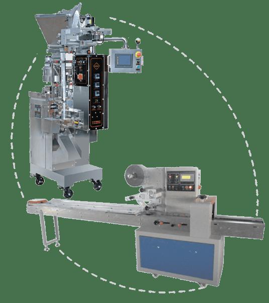 מכונות ייצור ומילוי שקיות